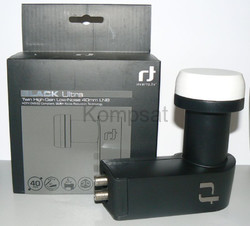 Konwerter Inverto Black Ultra Twin HIGH-GAIN LOW-NOISE 40 mm LNB