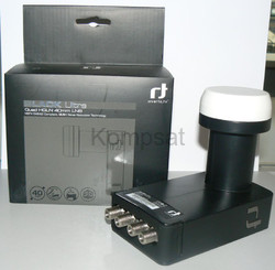 Konwerter quad INVERTO ULTRA  HIGH-GAIN LOW-NOISE 40 mm LNB